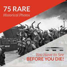 75 Rare Historical Photos You Have to See before You Die!  #history #rarephotos #oldphotos #vintagephotos