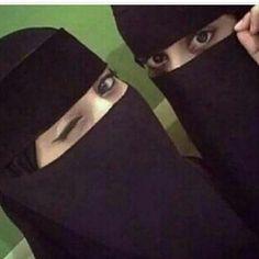 Niqab Eyes, Hijab Niqab, Hijabi Girl, Girl Hijab, Stylish Hijab, Stylish Girl, Muslim Girls, Muslim Women, Horse Girl Photography