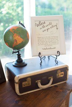 Travel Theme #wedding Photo via Project Wedding