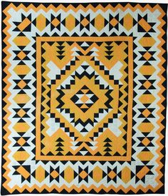 This c.1950 quilt was purchased from the estate of a member of the Blackfoot Native American tribe. [(Maker not recorded). c1950. From Michigan State University Museum, Michigan State University Museum Collection. Published in The Quilt Index, http://www.quiltindex.org/basicdisplay.php?kid=1E-3D-2791. Accessed: 05/29/2018]