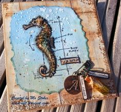 almo craft - Seahorse Frenzy; July 2014