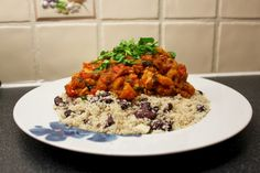 Shirin's Jerk Chicken Curry | Macro Mitch