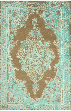 Rugs USA Savanna RE25 Turquoise Rug. Rugs USA Summer Sale up to 80% Off! Area rug, carpet, design, style, home decor, interior design, pattern, trend, statement, summer, cozy, sale, discount, free shipping.