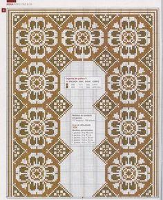 un solo color Cross Stitch Borders, Cross Stitch Flowers, Cross Stitch Designs, Cross Stitching, Cross Stitch Patterns, Beaded Embroidery, Cross Stitch Embroidery, Embroidery Patterns, Palestinian Embroidery