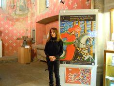 Exposition personnelle de Mathilda de Carpentry au Musée de l'Abbatiale à Payerne CH-1530  Du 7 février au 22 Mai 2016 Reverse painting on glass - Peinture sous verre - Hinterglasmalerei