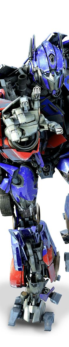 Optimus Prime. I'm not a transfan, but I still do like the transformers from Bayverse, Prime, and Animated