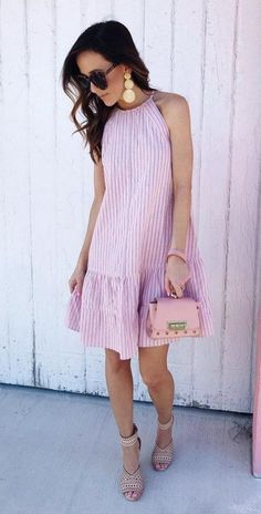 24 Cute Spring Street Style Outfits To Copy Summer Outfits Women, Spring Outfits, Summer Dresses, Spring Clothes, Woman Outfits, Outfit Summer, Long Dresses, Maxi Dresses, Street Style Outfits