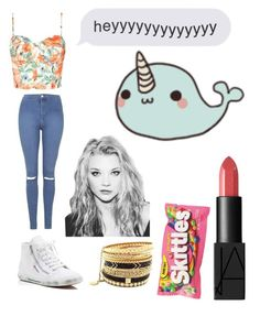"""Idek (I don't even like this)"" by lps23 ❤ liked on Polyvore featuring Jessica Simpson, Superga, Topshop and NARS Cosmetics"