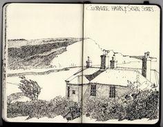 Ian Sidaway Fine Line: Cuckmere Haven