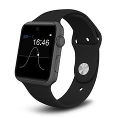 Lemfo Bluetooth Smart Watch Sync Notifier support Sim Card sport smartwatch For apple iphone Android Ios xiaomi Fitness Tracker, Sport Fitness, Watch For Iphone, Android Watch, Android 4, Smartwatch, Bluetooth, Smart Watch Review, Camera Cards