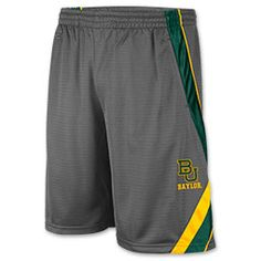 Men's Colosseum Baylor Bears College Wave Text Basketball Shorts - Finish Line