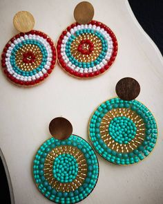 Instagram, Patience, Te Amo, Hand Made, Colors, Art, Boucle D'oreille, Locs, Beads