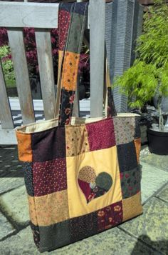 Tote bag by EverSewUnique on Etsy, £30.00