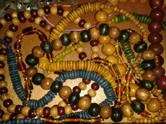 Beads £2.50 each Ornament Wreath, Ornaments, Wreaths, Jewellery, Beads, Decor, Beading, Jewels, Decoration