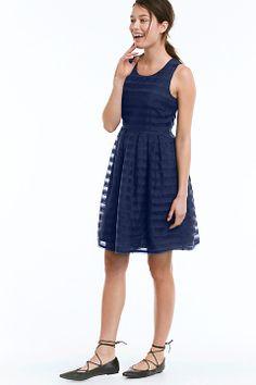 Ellos Collection Marinblå Klänning randig Plus Size Dresses 7c82a6410fe01
