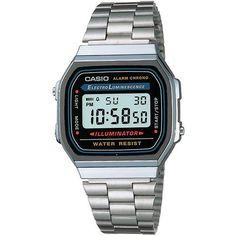 dd57df93487 Relógio Feminino Casio Vintage Digital A168WA-1WDF