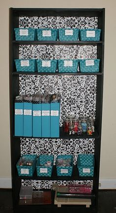 Bookcase Makeover - doing this with the bookcase in the craft room! - Studio