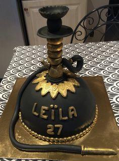 Gâteau chicha Hookah cake