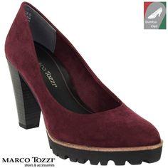 Marco Tozzi női körömcipő 2-22424-27 549 bordó