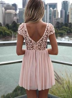 Pink Day Dress