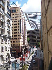 Sandton, Johannesburg, Gauteng. Africa's Manhattan