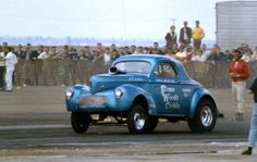 Stone, Woods Cook Willys gasser