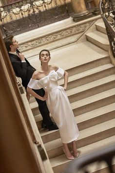 Nadire Atas on Carolina Herrera Must Haves Off-the-shoulder Harley cocktail dress with bow detail from the Carolina Herrera New York Spring 2019 Bridal Collection Wedding Dress Trends, Wedding Gowns, Party Wedding, Summer Wedding, Lace Wedding, Wedding Dressses, Wedding Mandap, Wedding Stage, Crystal Wedding
