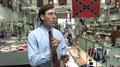 Glenn McConnell is a HUGE fan of the Confederate Flag, like major. He's a Confederate Civil War reenactor and while he was President Pro Tempore of the South Carolina Senate, he also ran LITERALLY a Confederate Flag gift shop. After the Lt. Gov. had to resign, Glenn got promoted to his spot. Because of his racism, that was too public for the state so he was shuffled out and made president of the College of Charleston. The same college that hosted the funeral of State Sen. Rev. Clementa…