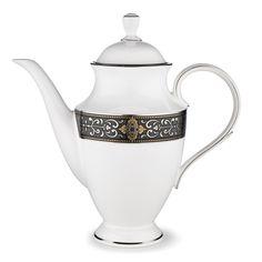 Vintage Jewel 6 Cup Coffee Server with Lid