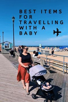 The best items for travelling with a baby between the ages of 0 to 6 months. Strollers you can take on the plane, travel cots with bassinets and a baby sling we tried, tested and loved during 7 weeks exploring New York. Toddler Travel, Travel With Kids, Family Travel, Baby Travel, Girl Travel, Travel Items, Travel Gadgets, Travel Gifts, Travel Products