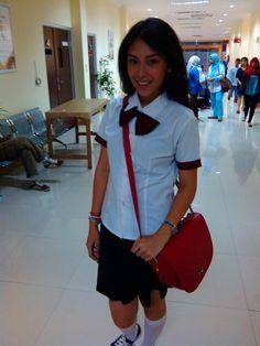 Bianca [at] Koridor Rumah Sakit Medika Dramaga - Bogor. #CintaYangSama