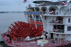 AMERICAN QUEEN...                                                                                                                                                                    I have been on 2 wonderful cruises on this grand lady....The American Queen! Once with my sister & then with my better half! What a lovely & wonderful time!!! Soooo beautiful! <3 <3