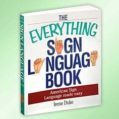 Sign language book!