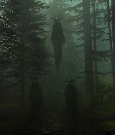 Dark Green Aesthetic, Witch Aesthetic, Arte Horror, Horror Art, Gothic Horror, Dark Fantasy Art, Slytherin Aesthetic, Creepy Art, Dark Photography