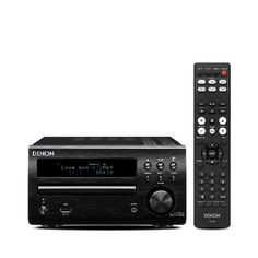 Denon RCDM40DAB-BLACK Packing years of audio experience into a stylish frame, the Denon RCDM40DAB is the perfect addition to any music lovers household. With 60w of output, the Denon produces brilliantly realised audio, br http://www.MightGet.com/february-2017-3/denon-rcdm40dab-black.asp
