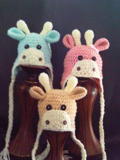 giraffe hats- so sweet!.