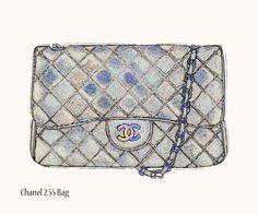 Illustrated Lines: Handbag Illustration
