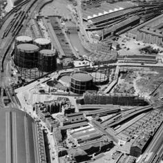 St Pancras Station, St Pancras, 1947 | Britain from Above