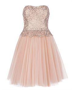 Ted Baker TAMMIE - Lace bodice dress