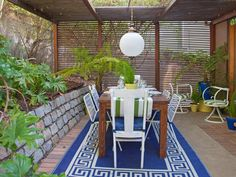 The experts at HGTV.com share their budget-friendly tips to help you create the perfect outdoor space.