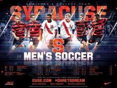 Syracuse Men's Soccer Poster (2015)