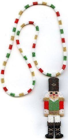 Toy Soldier Nutcracker Beaded Necklace | Flickr - Photo Sharing!