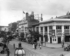 According to the Library of Congress, this is from 1922, although it was mislabeled 9th and S St. Moore's Rialto was located at 713 9th St. NW, which is close to G St. NW.