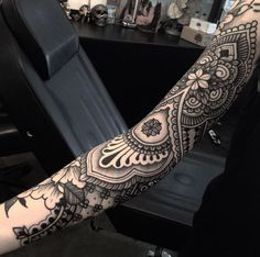 Ornamental sleeve by Jack Peppiette