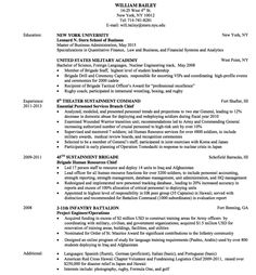 military resume sample httpexampleresumecvorgmilitary resume - Sample Military Resume