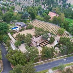 31742 Contijo Stunning 3-Acre Los Ranchos equestrian estate with the finest custom finishes and a fully functioning Vineyard! #cotodecaza #thebowenteam #equestrian #horseproperties #vineyard #winery