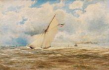 On the Elbe - Hugo Schnars-Alquist