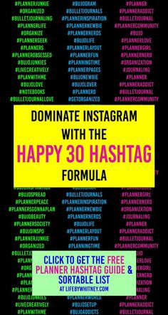 Learn to use hashtags on Instagram and make your planner account stand out! Dominate Instagram with your journaling pictures with the ultimate hashtag planner with a sortable sheet. #instagram #bujo #bulletjournal It Works Marketing, Online Marketing, Hashtag Finder, Business Inspiration, Business Ideas, Journal Ideas, Journal Inspiration, Calendar Organization, How To Get Followers