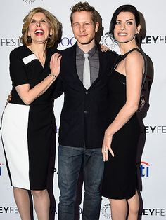 Star Tracks: Monday, March 9, 2015 | GOOD TIMES | Matt Czuchry finds himself in good company sandwiched between costars Christine Baranski and Julianna Margulies at L.A.'s PaleyFest, where they chatted up The Good Wife on Saturday.