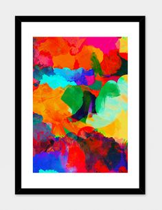 """A GREAT CALM"", Numbered Edition Fine Art Print by Rebecca Allen - From $39.00 - Curioos"